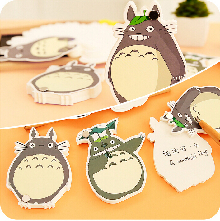 Notebooks & Writing Pads Office & School Supplies Cute Novelty My Neighbor Totoro Memo Pad Loose Leaf Notepad Mini Memo Notepad Bookmark School Office Supply Gift Statioery
