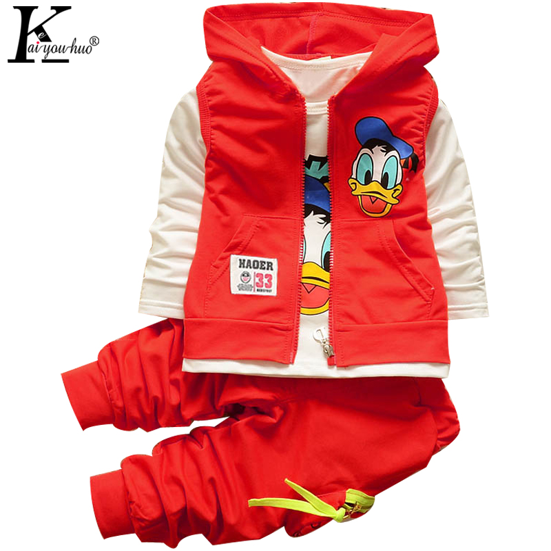 KEAIYOUHUO Children 3 Piece Girls Boys Clothes Sets