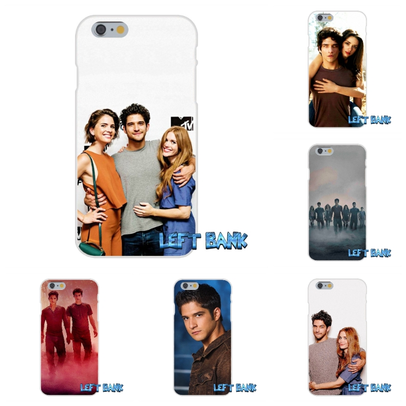Teen Wolf Tyler Posey Soft Silicone TPU Transparent Cover Case For iPhone 4 4S 5 5S 5C SE 6 6S 7 Plus