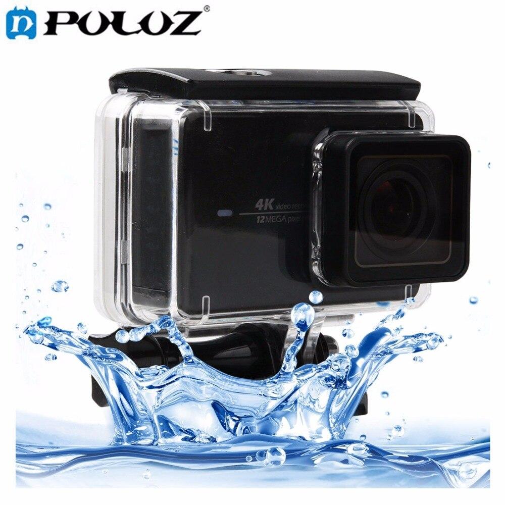 Touchscreen Wasserdichte Gehäuse Schutzhülle mit Schnalle Grundfassung & schraube für Xiaomi yi II 4 Karat Kamera Wasserdichte Tiefe: 45 mt