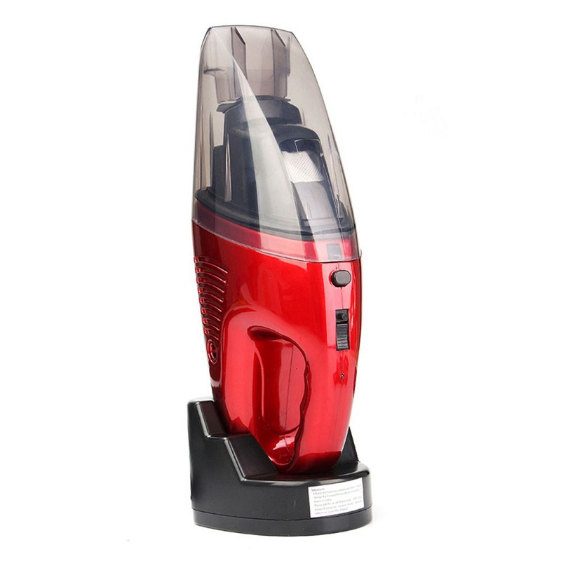 Newest Mini Vacuum Cleaner Cordless Handheld Vacuum Cleaner Super Suction Dual Use Wet And Dry Vacuum Aspirateur Dust 2018 car vacuum cleaner 90w 2800pa mini portable cordless handheld auto vacuum cleaner dust suction collector dry wet dual use