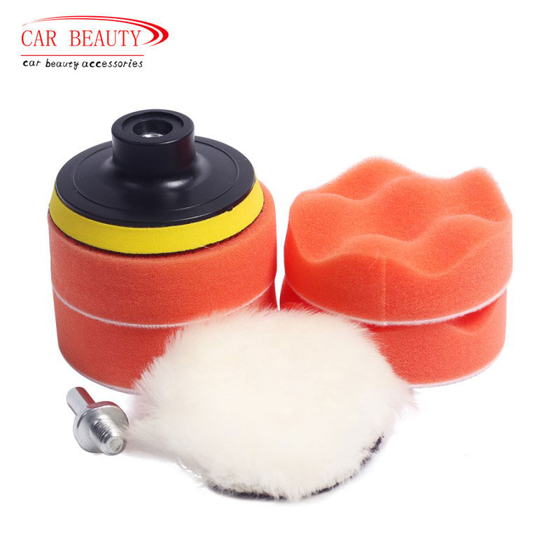 7Pcs 3/4 Inch Polishing Pad Polishing Circle For Polisher Machine Polishing Waxing Buffing Pad Pulidora Auto Car Polisher Sponge