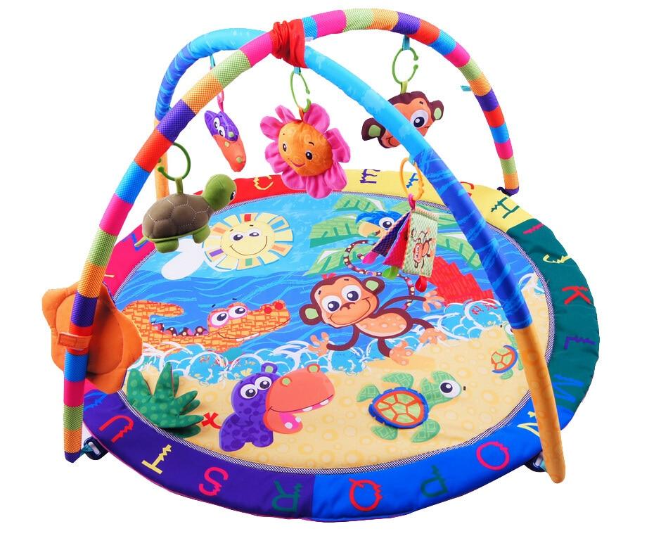 Baby Activity font b Play b font font b Mat b font Baby Gym Educational Fitness