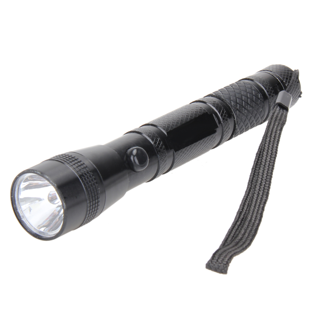 3W Aluminium Alloy LED Torch Outdoor Camping Hiking Fishing Zoomable Flashlight Tactical Waterproof Light Lamp Battery Operated