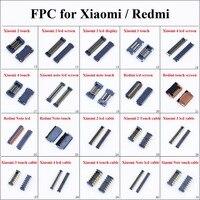 Chenghaoran 1 шт. ЖК-дисплей экран разъем FPC для сенсорного экрана Порты и разъёмы Разъем для Xiaomi 2 m2 M3 M4 Примечание Redmi на плате