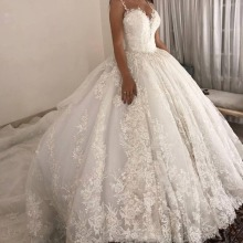 Baroque Summer Ball Gown Wedding Dress Bridal gown