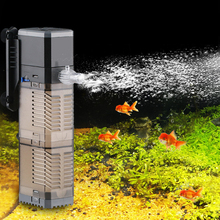 Аквариумный фильтр насос супер 4 в 1 аквариум погружной воздушный кислородный внутренний насос CHJ502/CHJ602/CHJ902/CHJ1502 водяной насос