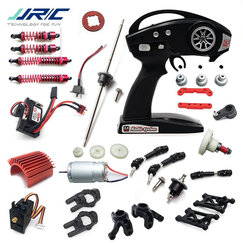JJRC Q39 Q40 Parts Car Spare Parts Receiver Motor Control Servo Charger Shock Absorbers Differential Gear Clutch Arm Etc