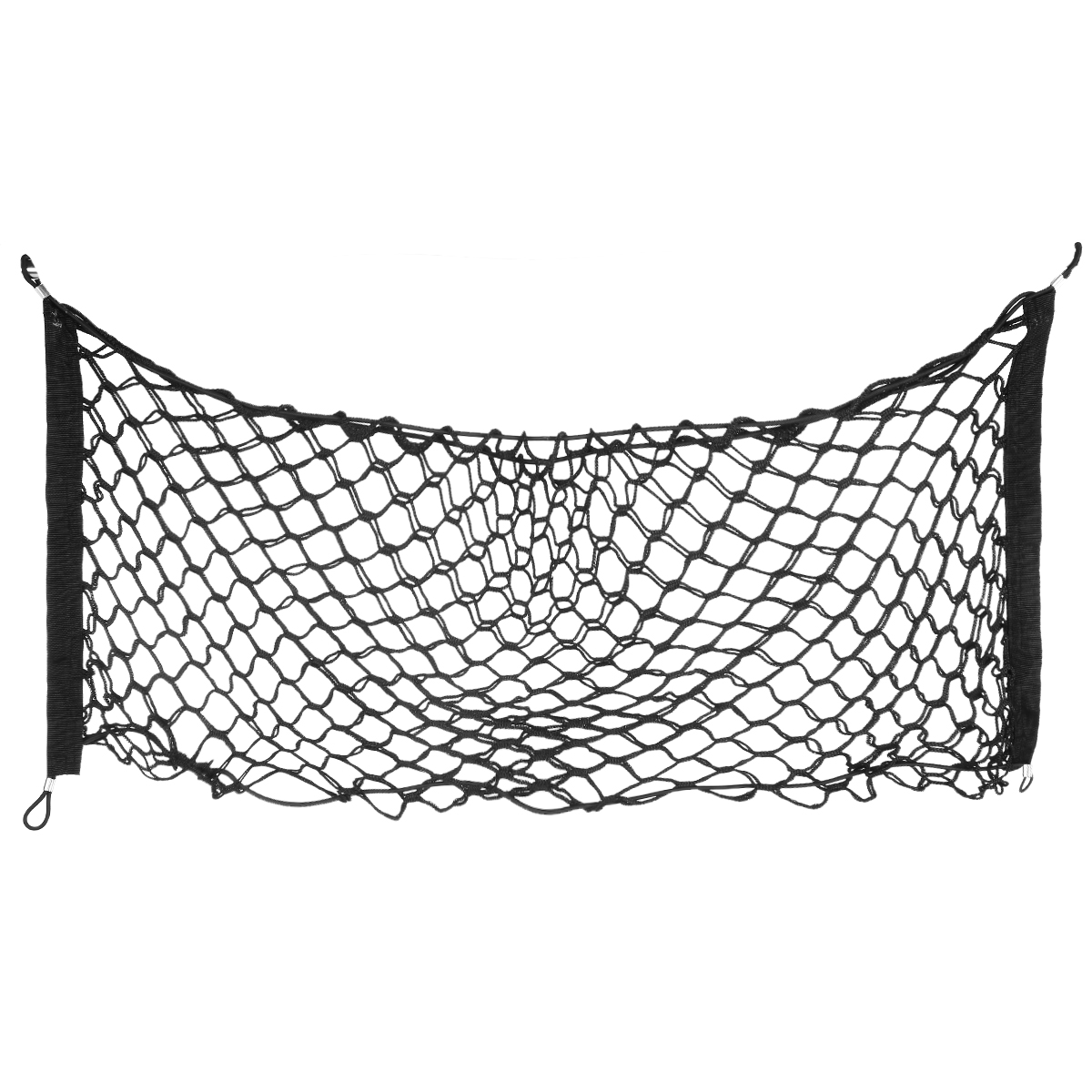 1 pc 90*40cm Universal Car Trunk Cargo Elastic Double Mesh Net Luggage Storage Holder Styling Truck