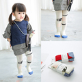 2016 Autumn 2-12y baby girls tights candy colors Children's dancing cotton stocking pantyhose eyes C838