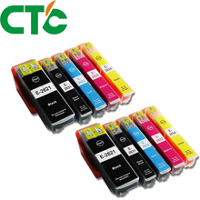 10 PCS T2621 26XL Ink Cartridge Compatible for INK Expression Premium XP-600 XP-605 XP-700 XP-800 XP-610 XP-615 XP-710 XP-810