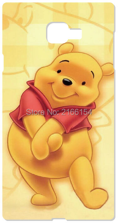 Winnie The Pooh Cover For Samsung Galaxy Core G360 G350 A3 A5 A7 A8 A9 E5 E7 J1 J3 J5 J7 Prime 2016 Cell Phone Case Capa