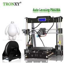 TRONXY P802MA 3d Printer High Quality Diy Reprap Prusa i3 Kit Auto Level Senso 220*220*240mm 3d Printer 1 Roll Filament 8GB Gift