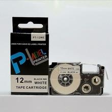 12mm black on white XR-12WE1 tape cartridge be used for KL-780 KL-820 KL series label printer