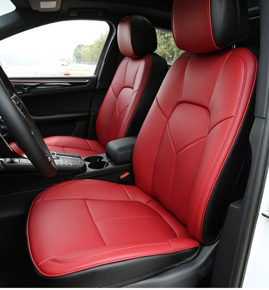 Special Leather Car Seat Covers For Porsche Cayenne Macan: High Quality Fashion Genuine Leather Customized Car Seat