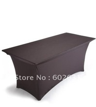 Quality spandex table cover for banquet Rectangular table 760Wx1520Dx760H mm,fast delivery,best reasonable price,free shipping free shipping high quality price reasonable beautiful acrylic podium pulpit lectern