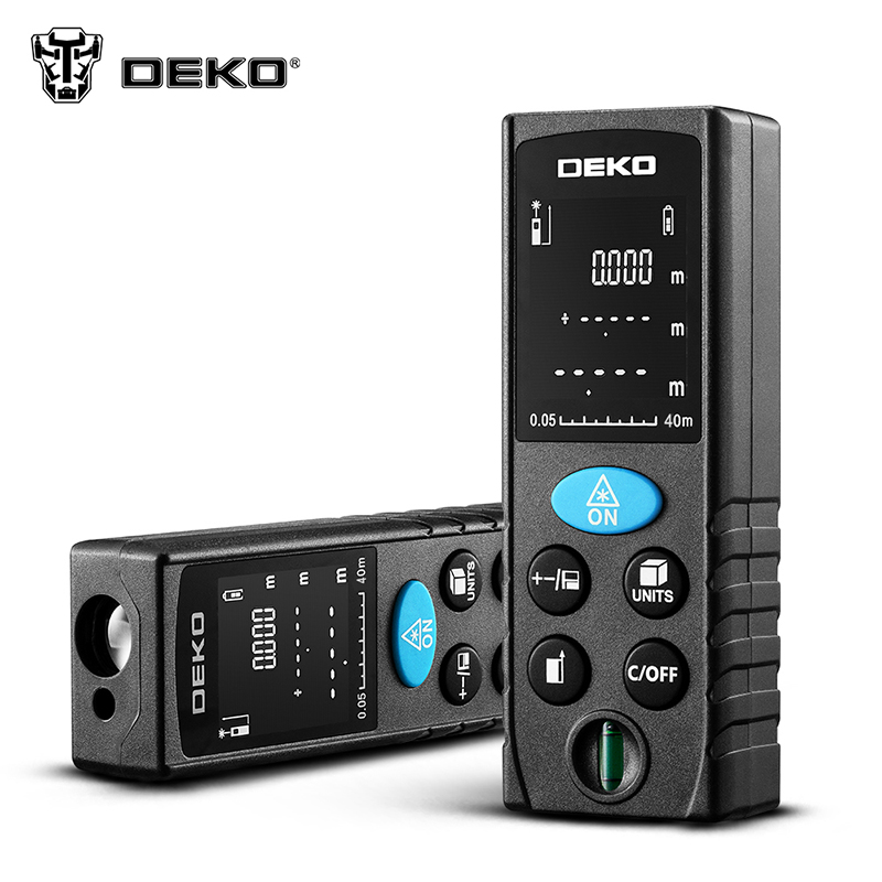 Laser Range Finder DEKO DKLRD11 Rangefinder Trena Laser Tape Range Finder For Assembly Measuring Device Ruler Test Tool leter cp 80 80 m laser rangefinder handheld range finder laser ruler built ranging motor