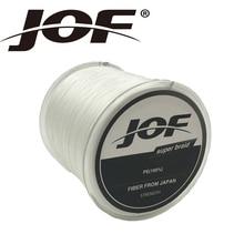 JOF 500m Braided Multifilament 8Strands Super Power PE Fishing Line Rope Peche Spearfishing Cord Wire Peche Carp Winter