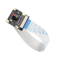 ir led Raspberry Pi 3B Camera Module 1080p 5MP Night Vision Camera + 2 pcs IR Sensor LED Light for Raspberry Pi 3/2 Model B (2)