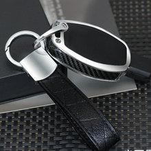 Car Metal Leather Key Ring Keychain Keyring Key Holder for Mercedes Benz W203 W211 W204 W210 W124 W212 W205 W202 W176 W168 W169 цена 2017