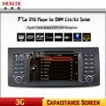 """Бесплатная доставка 7 """"сенсорный Экран Автомобильный DVD Навигация Для BMW/X5 E53 E39 С GPS Bluetooth Радио RDS USB IPOD руль Canbus"""
