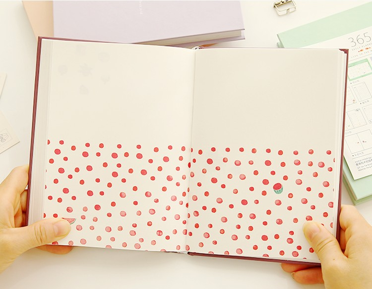 2019 Jukuai Cute Stationery Notebook 365 Planner A5 Weekly Monthly