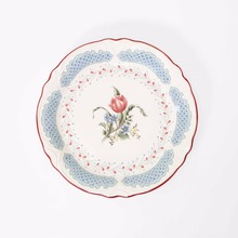 1pc Wildflower in Spring Hand Painted Plate Dish French Country Style Ceramic Tableware Dinnerware Cake Plate  sc 1 st  AliExpress.com & Buy french style plates and get free shipping on AliExpress.com