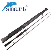 SMART 2Sec 1.8m/M Spinning/Casting Fishing Rod Carbon Lure Rods Stick Vara De Pesca Canne A Peche Bass Olta Fishing Tackle