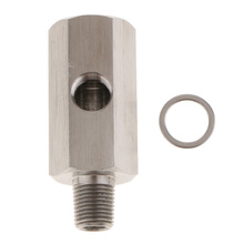 BSPT Sensor de presión al óleo de hombre adaptador de t a NPT, línea de alimentación, EP CGQ197 para coche, camión, RV, remolque, 1 Juego