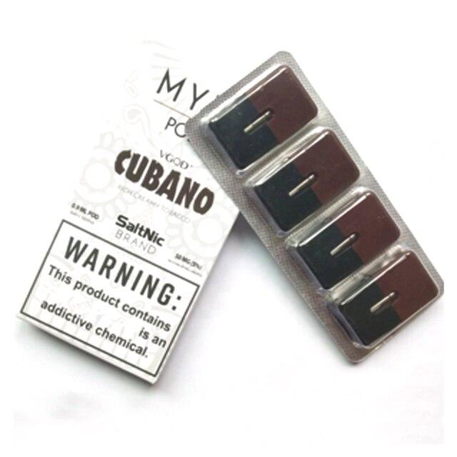 20Pcs/Lot Vape Pen Pods 0 9ml Closed System Pod Vape Cartridge for MYLE  Device Electronic Cigarette BCD Pods