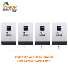 20Kva PWM Solar Inverter 16000W Pure Sine Wave Off-Grid Inverter 230Vac Buid-In PWM AC Charger With Free Parallel Card DC To AC