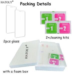 Image 5 - HATOLY 2 STUKS Gehard Glas voor Asus Zenfone 2 ZE500CL ZE500kl ZE550KL ZE601KL ZE551ML Scherm Bril Clear Beschermende Film