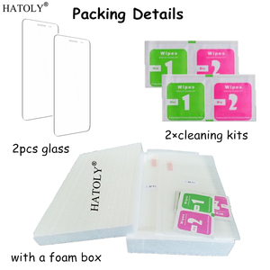 Image 5 - HATOLY 2PCS Tempered Glass for Asus Zenfone 2 ZE500CL ZE500kl ZE550KL ZE601KL ZE551ML Screen Glasses Clear Protective Film