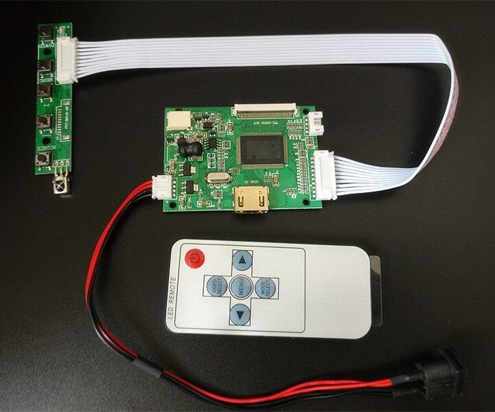 9-дюймовый экран 1024*600, ЖК TFT-монитор с пультом дистанционного управления, плата управления HDMI для Lattepanda,Raspberry Pi Banana Pi-1
