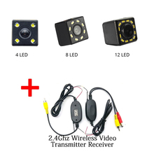 Car Rear View Camera Universal HD CCD Night Vision Reverse Auto Parking Monitor IP67 Waterproof 170 Degree Video for VW Toyota