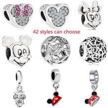 63a536bcd9e1 Promoção de Encantos De Pandora Mickey & Minnie - disconto ...