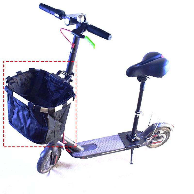 Xiaomi M365 trottinette électrique Accessoires Avant Cadre Pour Xiaomi cadre de vélo Toile scooter pliant Cadre