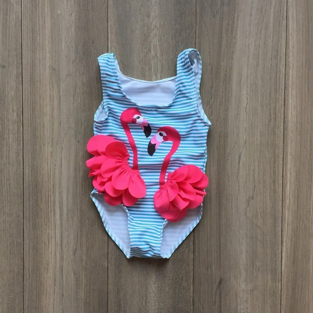 d331bb29be new arrivals baby girls swimsuit rose red flamingo blue swimsuit hot  swimsuit