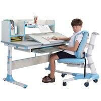 Универсальный Детский Рабочий стол эргономичный детский учебный стол студенческий регулируемый стол и стул комбинация