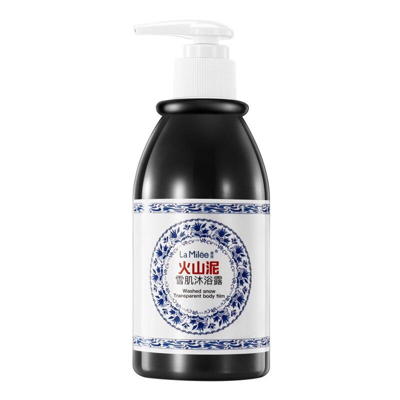 Hot Volcanic Mud Body Wash 250ml Whitening Exfoliating Moisturizing Body Bathing Cream SJ66