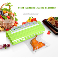 Free DHL 1pc Fully Automatic Vacuum Food Sealer Household Food Preservation Multi Function Vacuum Film Sealing