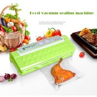 Free DHL 1pc Fully Automatic Vacuum Food Sealer Household Food Preservation Multi Function Vacuum Film Sealing