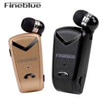 Fineblue F-V2 Bluetooth Стерео Гарнитура Бизнес BT 4.0 Голосовые Подсказки Беспроводная Музыкальная Наушники Наушник Кабель с Зажимом для Oppo/LG