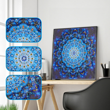 Mandala Diamond Embroidery Flower Special Shaped Painting DIY 5D Partial Drill Cross Stitch Bohemian Mosaic