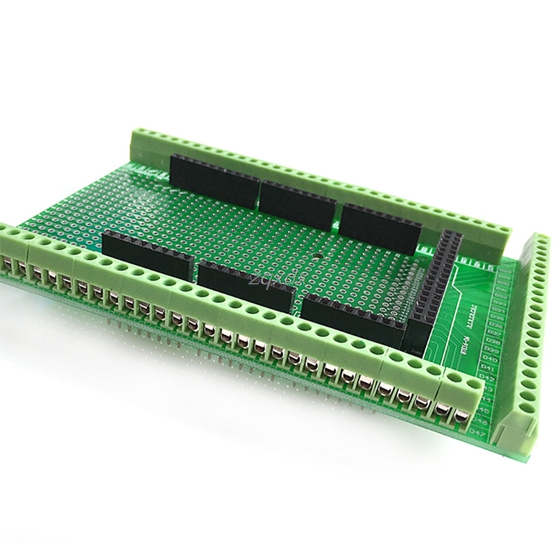 Prototype Screw/Terminal Block Shield Board Kit For MEGA-2560 R3 Z09 Drop ship