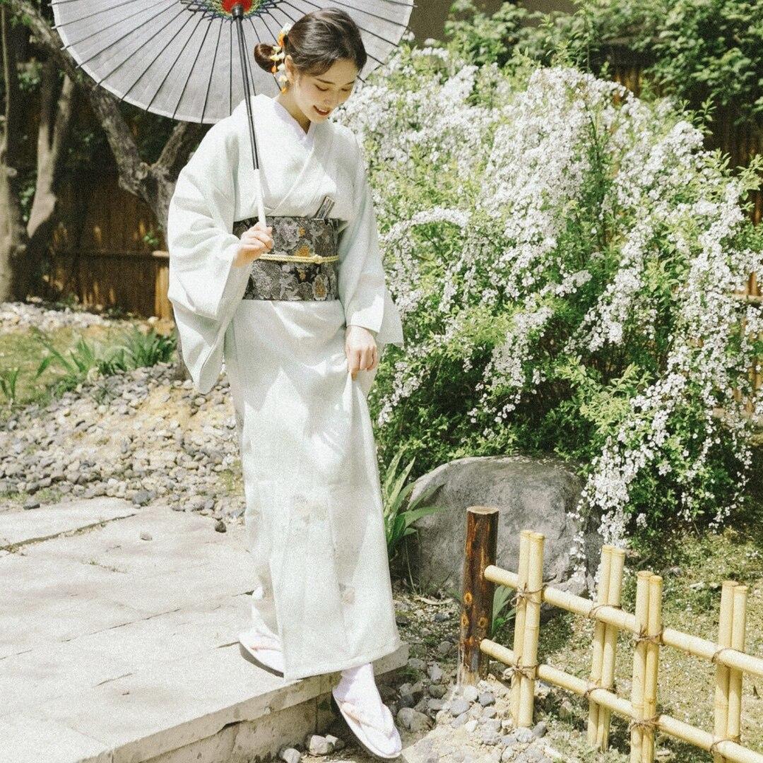 2019 mère fille robes correspondant pyjamas filles robe de soirée style japonais robes femmes