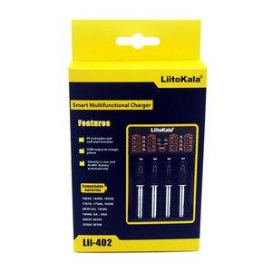 Image 5 - Novo liitokala lii 202 Lii 100 Lii 402 18650 carregador de bateria para 26650 16340 rcr123 14500 lifepo4 1.2 v ni mh ni cd inteligente