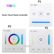 MiBOXER P1/P2/P3 Smart touch Panel Controller Led Dimmer RGB/RGBW/RGB+CCT Color Temperature CCT for Strip Light