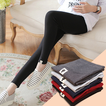 New Maternity Leggings for Pregnant Women Pants Elastic Hight Waist Pregnant Leggings Maternity Clothes Pregnancy Trousers