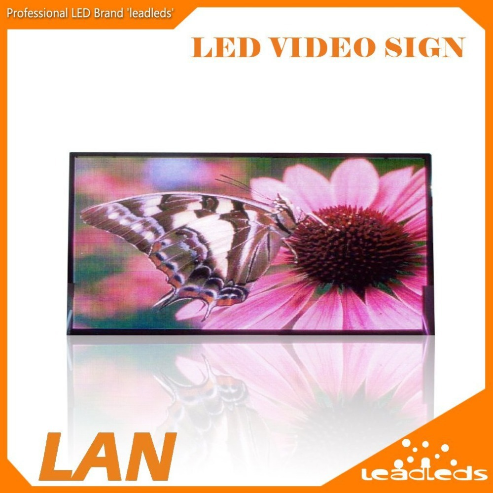 32 X 11inches HD Inches Full Color Indoor LED Video Display Screen Clearly Display Video / Music(voice)